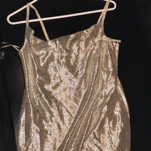 Topshop foil mini dress BRAND NEW